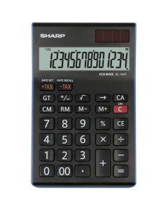 Calculator de birou, 14 digits,  SHARP EL-144TBL