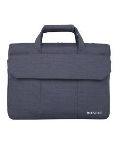 "Geanta laptop Bestlife gri BBC-3191, 15.6"""