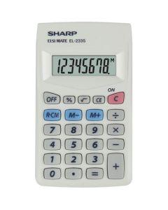Calculator de buzunar, 8 digits, SHARP EL-233S