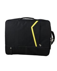 "Geanta/Rucsac laptop Bestlife Negru/Galben BLB-3003Y, 15.6"""