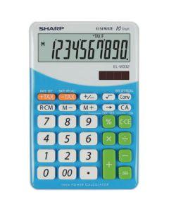 Calculator de birou, 10 digits, SHARP EL-M332BBL