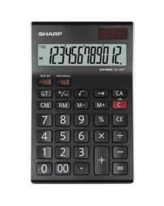 Calculator de birou, 12 digits, SHARP EL-125TWH