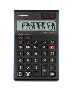 Calculator de birou, 14 digits,  SHARP EL-144TBL