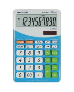 Calculator de birou, 10 digits, SHARP EL-M332BBL