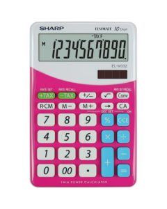 Calculator de birou, 10 digits,   SHARP EL-M332BPK