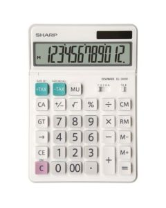 Calculator de birou, 12 digits,  SHARP EL-340W