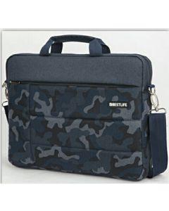 "Geanta laptop Bestlife multicolor BBC-3269-1BU, 15.6"""