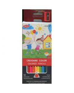 Creioane color DACO 12 culori