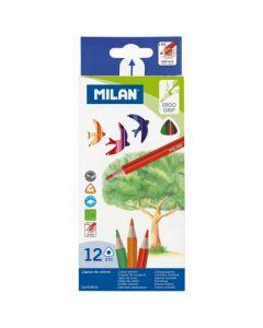 Creioane color Milan 12 culori