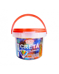 Creta scolara color 50 bucati/galetuta