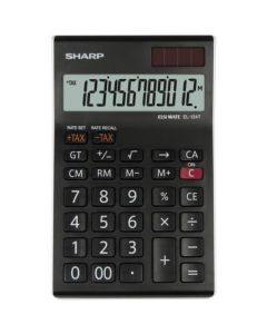 Calculator de birou, 12 digits,  SHARP EL-124TWH