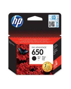 Cartus cerneala HP nr. 650 Negru CZ101AE