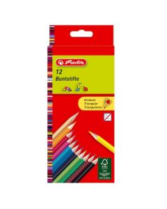 Creioane color Herlitz 12 culori